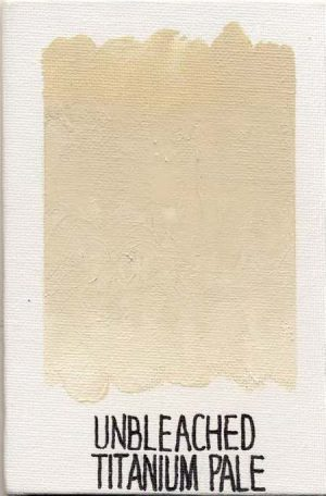 WILLIAMSBURG oils UNBLEACHED TITANIUM PALE 191