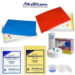 Masterson Palettes, Refills & Rinse Well