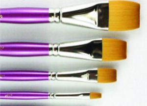 SERIES 680 HJ Gold Sable® Brush with Mauve Handle - Glaze