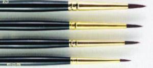SERIES 697 HJ Interlon Nylon Hair Brush - Spotter